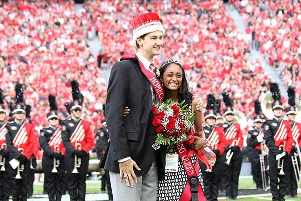 Jake Carnes Crowned Homecoming King